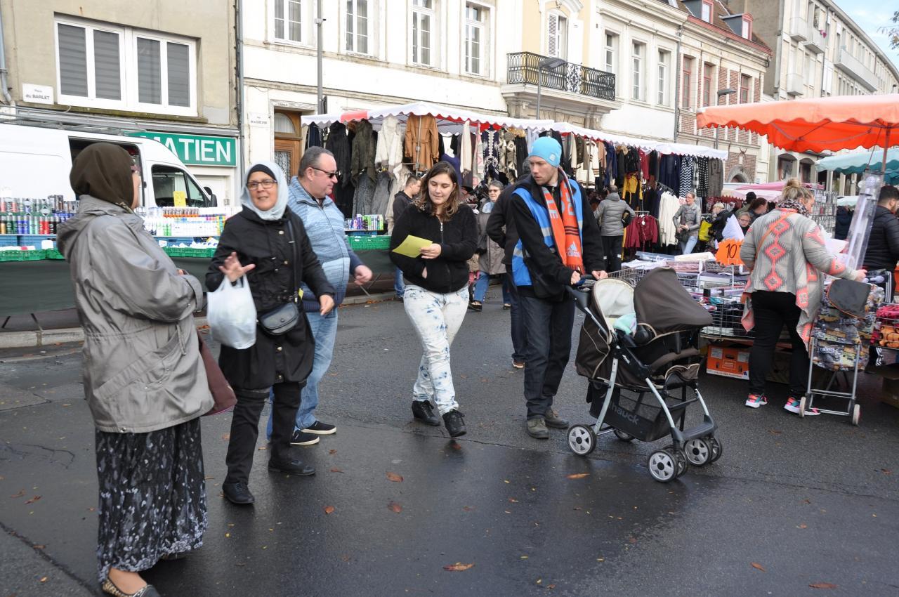 Opération journée mondiale de l'Enfant - Novembre 2016 - Douai.