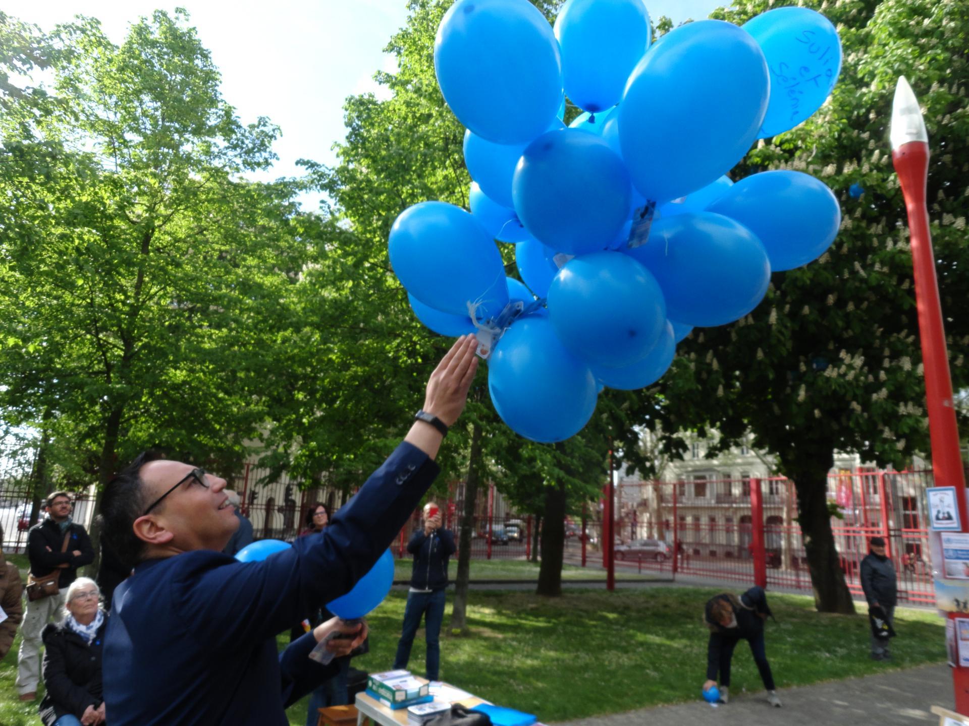 De 2015 à 2019, plus de 230 ballons (messages) ont été retrouvés. A tous merci !