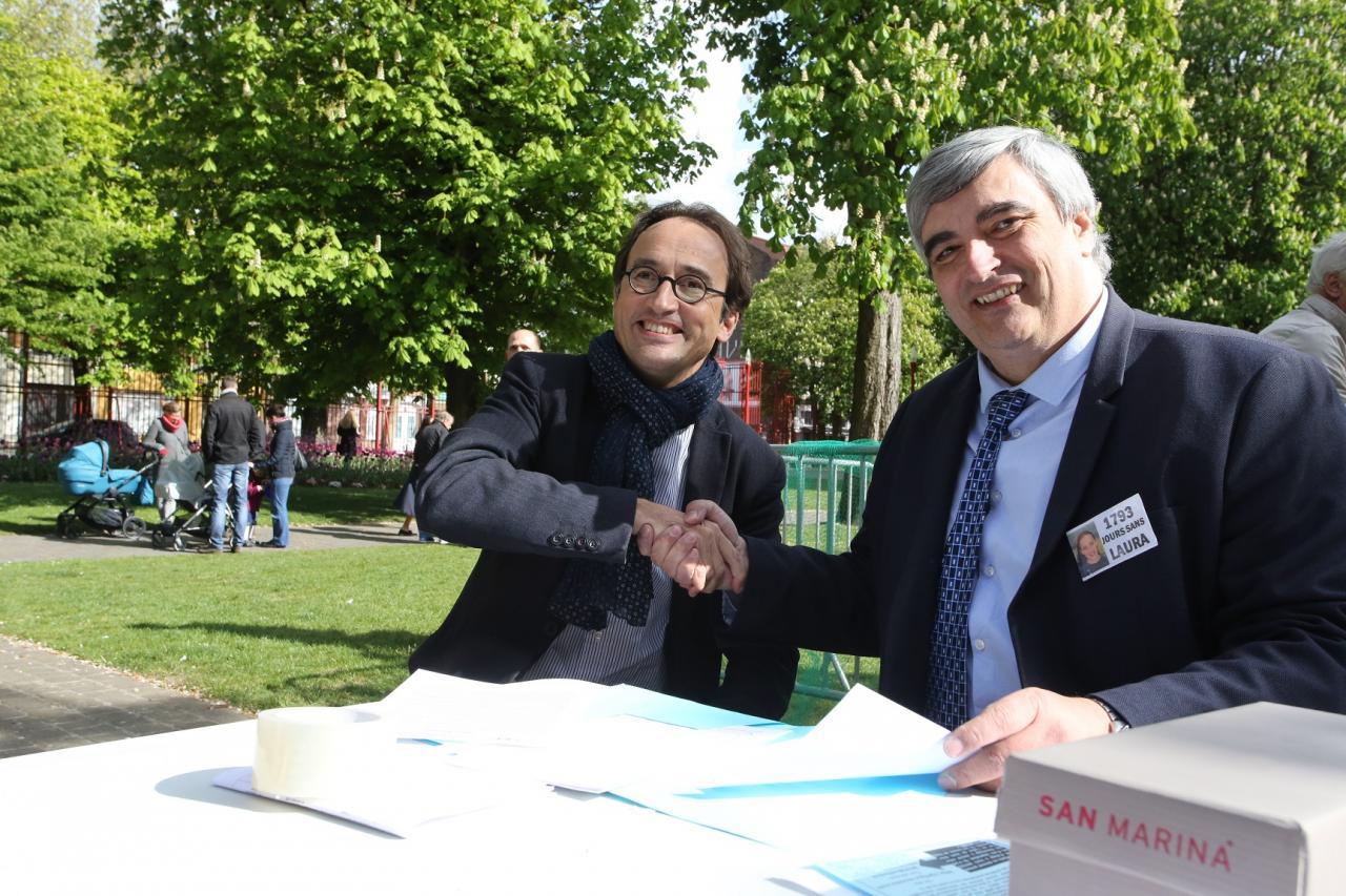 25 avril 2017 - Nicolas LEBAS, Vice-Président du Conseil Régional des Hauts de France.