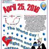 Balloons 2016 against PAS - For all the victims around the world...
