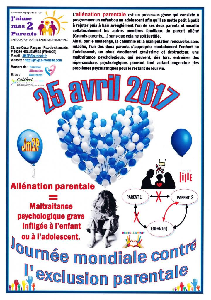"""OPERATION BALLONS 2017"" contre l'aliénation parentale"