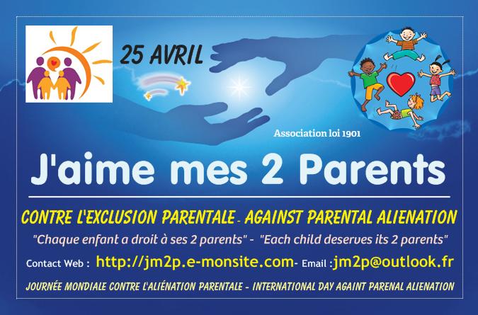 Les ballons du 25 avril 2016 contre l'aliénation parentale