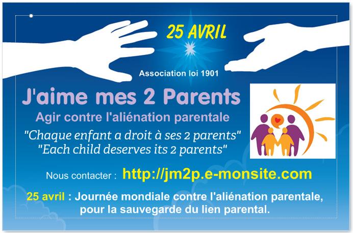 Les ballons du 25 avril 2015 contre l'aliénation parentale.