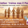 "La carte de visite de l'association ""J'aime mes 2 Parents"""