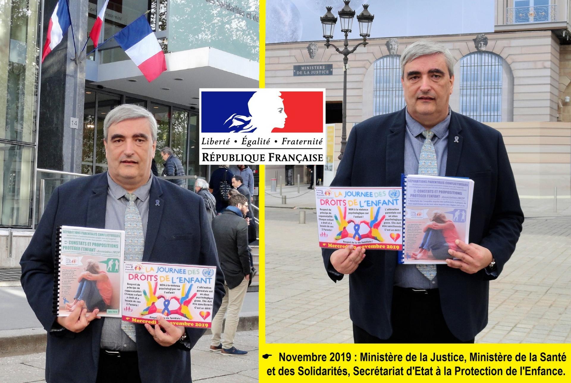 Francois scheefer aux ministeres 05 11 2019