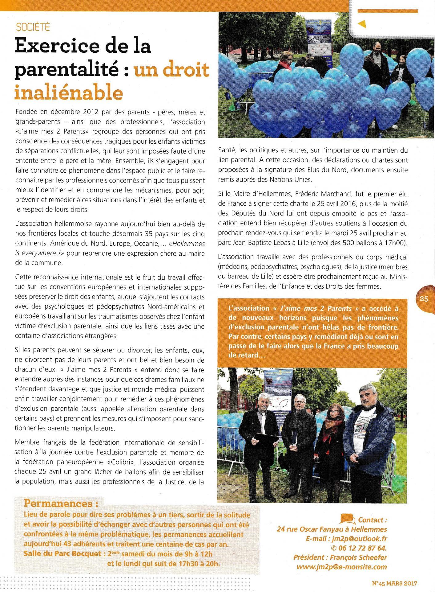 Jm2p dans bulletin d hellemmes 03 2017