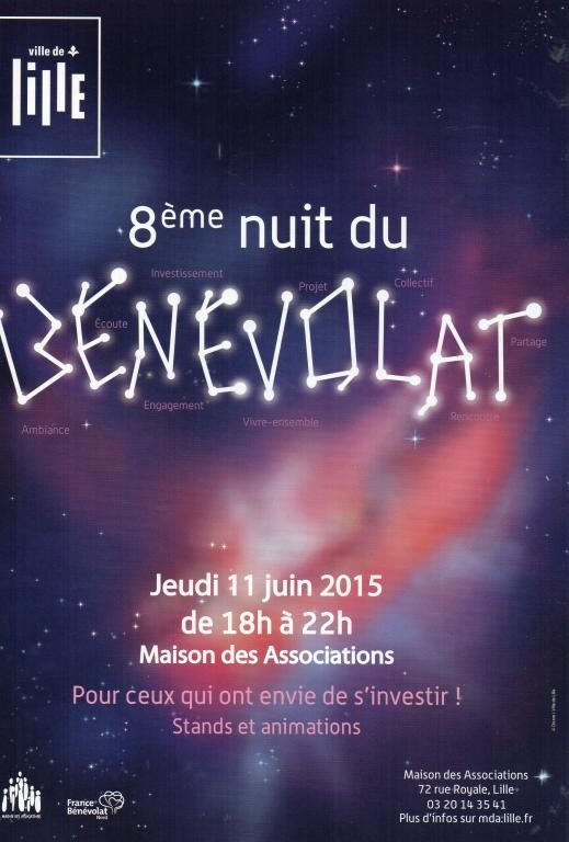Nuit du benevolat 11 06 2015