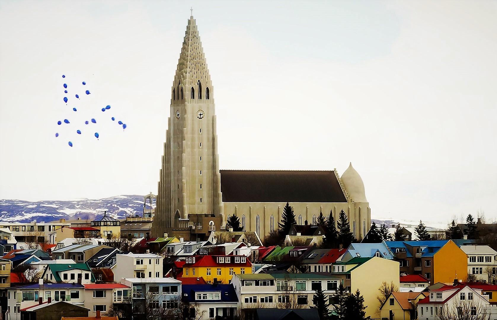 Reykjavik winter iceland 1