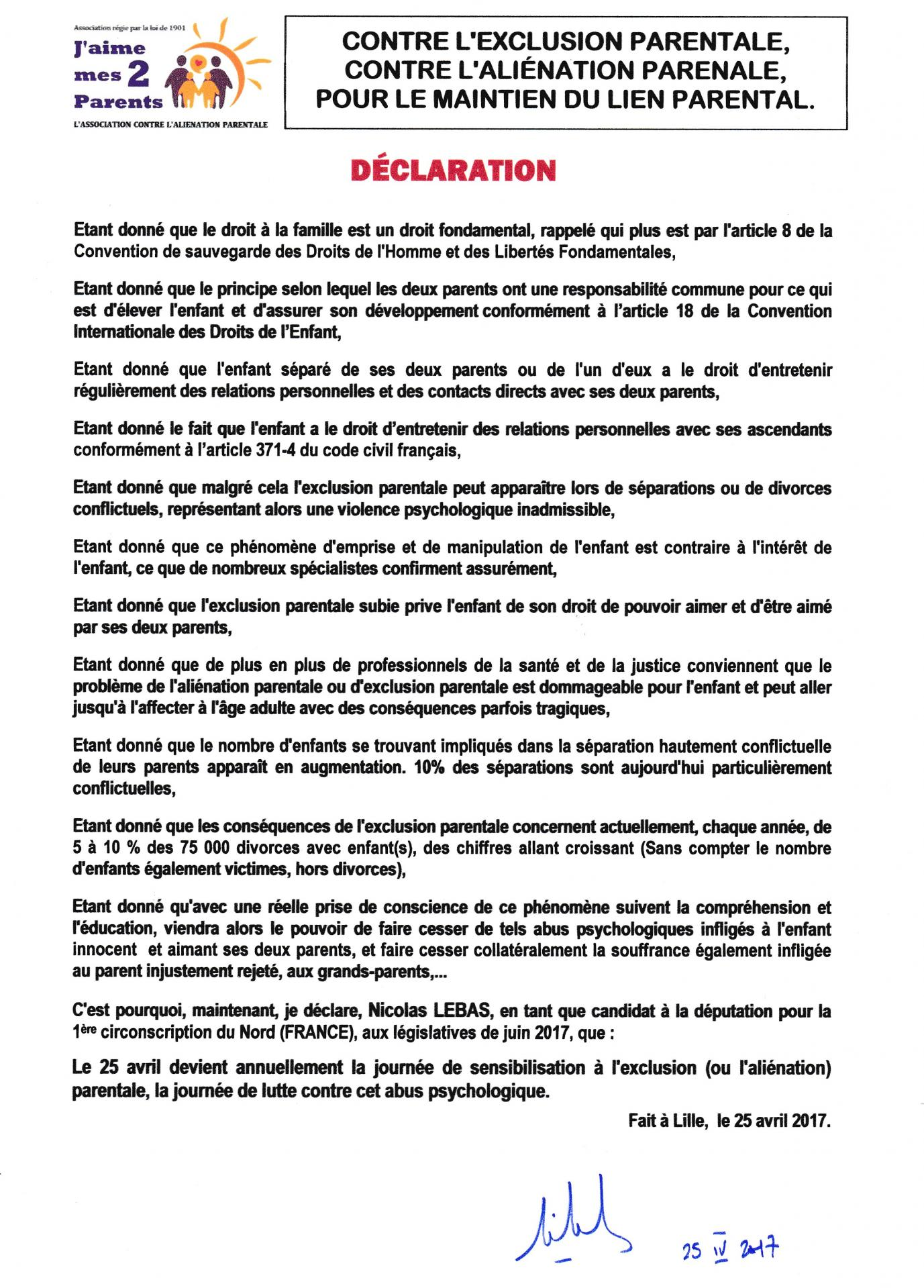 Scan n lebas declaration 25 04 2017